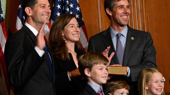 Beto sworn in to Congress