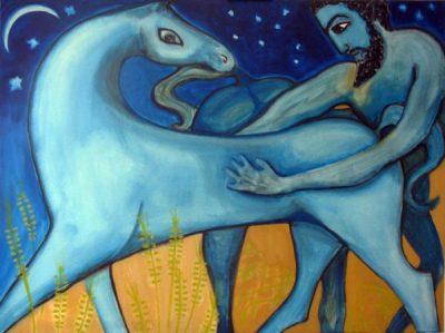 Demeter and Poseidon