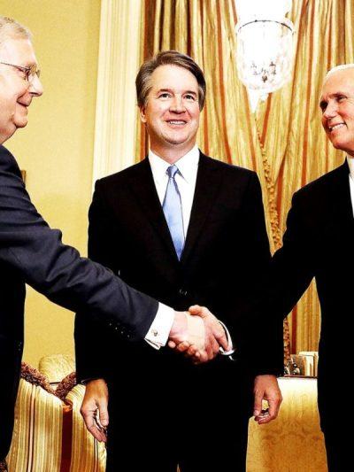 McConnell, Kavanaugh, Pence