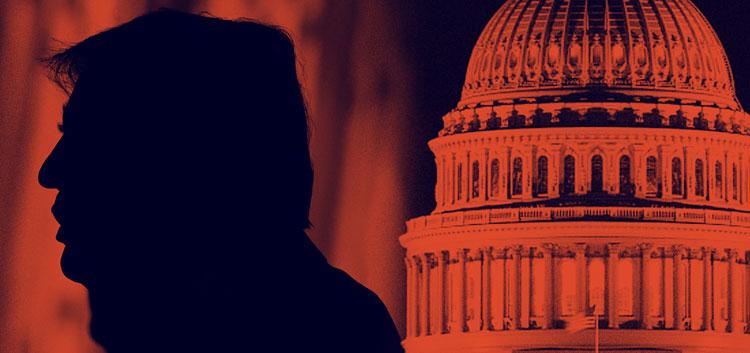 Donald Trump faces impeachment