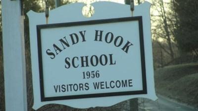 Sandy Hook Elementary School sign