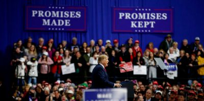 Donald Trump Campaign Rally, 2018, PA