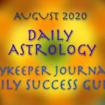 Free Daily Astrology, August 2020