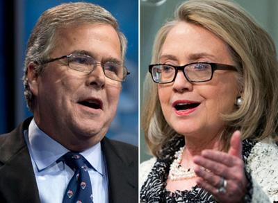 Bush v Clinton
