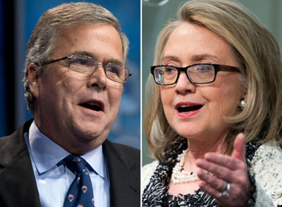 Bush v Clinton