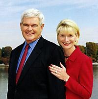 Gingrich with Callista