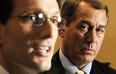 Eric Cantor and Speaker Boehner