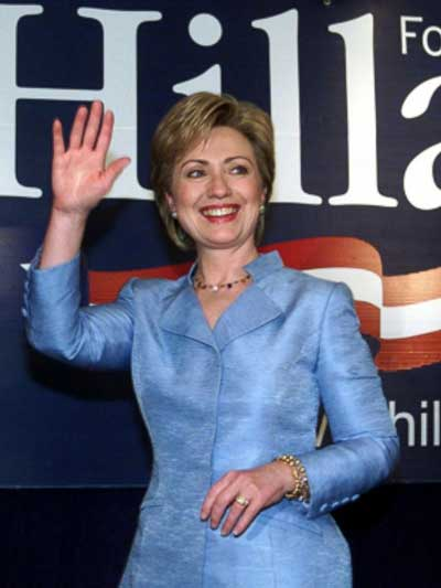 Hillary Clinton NY Senate Race, 2000