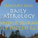Daily Astrology January 2020, Daykeeper Daily Success Guide