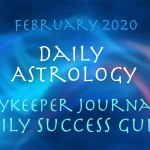 Daily Astrology February 2020
