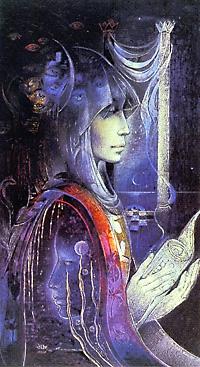 High Priestess, Goddess Knowledge Cards