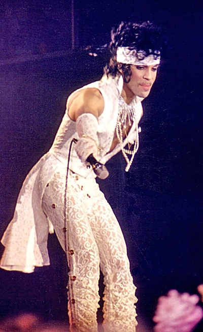 Prince, gender-bending superstar