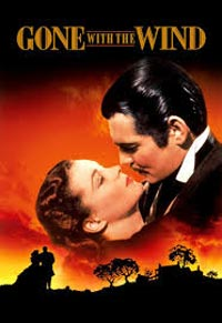 "Movie poster for ""Gone with the Wind"""