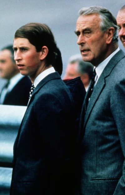 Prince Charles and Louis Mountbatten