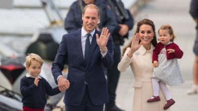 George, William, Kate and Charlotte