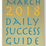 Daily Success Guide, March 2018