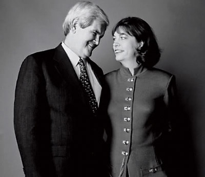 Gingrich with Marianne