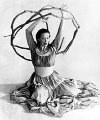 Martha Graham, astrology of Terpsichore