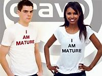 """""""I am mature"""""""