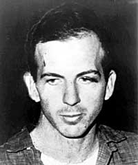 Lee Harvey Oswald, accused assassin.