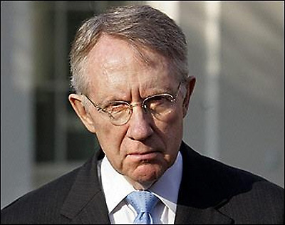 Senate Majority Leader Harry Reid, given a very slight advantage by the stars