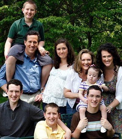 The Santorum family
