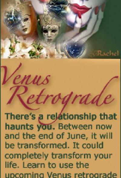 Venus Retrograde 2012