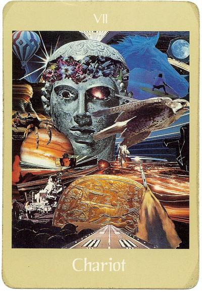 Voyager Tarot - Chariot