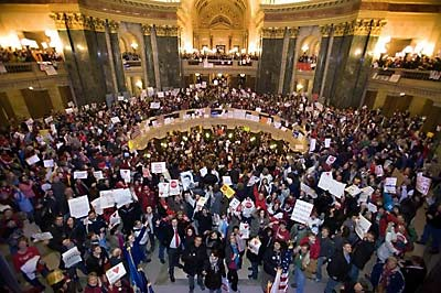 astrology of the wisconsin protest
