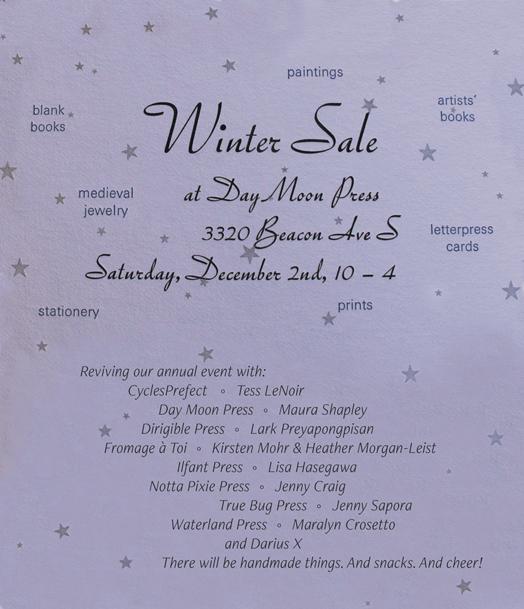 Winter Sale December 2!