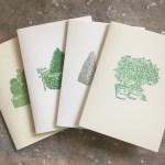 Italian garden 4-card set