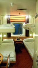 4 berth porthole cabin