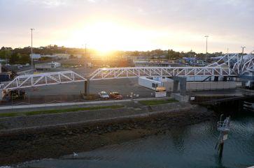 Unloading ramp, Devonport
