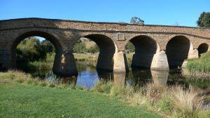 The famous Richmond bridge built by convicts