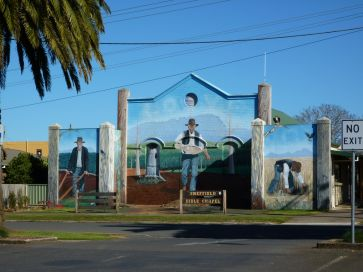 Mural tribute to farmers