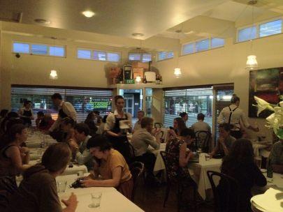 Black Cow Restaurant - inside