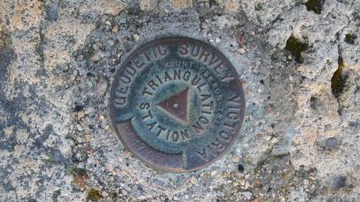 Geo survey trig station