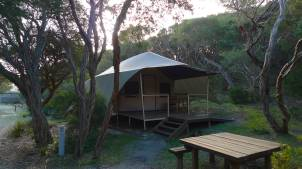 Vic Parks Wilderness Retreat front