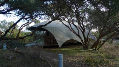 Vic Parks Wilderness Retreat side