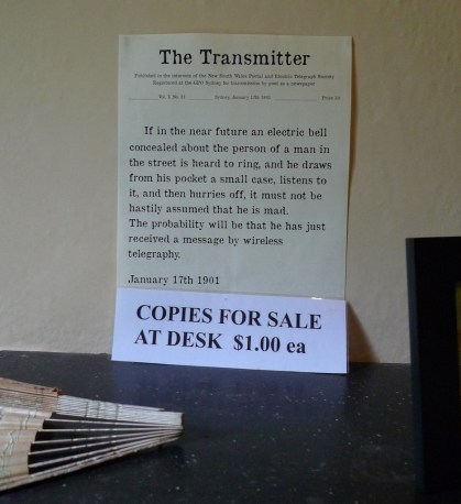 The Transmitter - how foresighted!