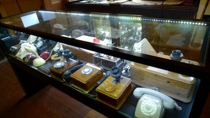 Display courtesy of the Telstra Historic Telephone Museum