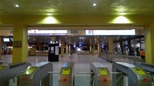 Adelaide Railway Station - platforms