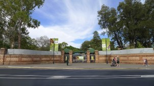 Old entrance to Adelaide Zoo