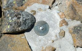 Geodetic Survey of Tas marker