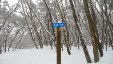Summit Trail sign