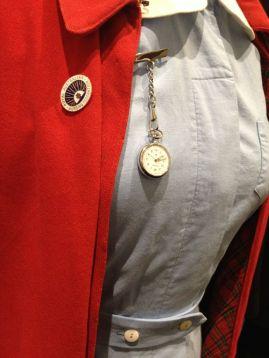 Nurses Uniform [bodice including Royal Australian Nursing Federation Badge Nurses Watch]