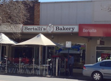 Bertalli's Bakery makes great pies - Benalla, VIC