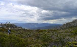 Lake Nicholls is just below this plateau