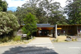 Visitor Centre at Mt Field National Park