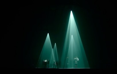 """Anthony McCall's """"Solid Light Works"""" was enthralling"""